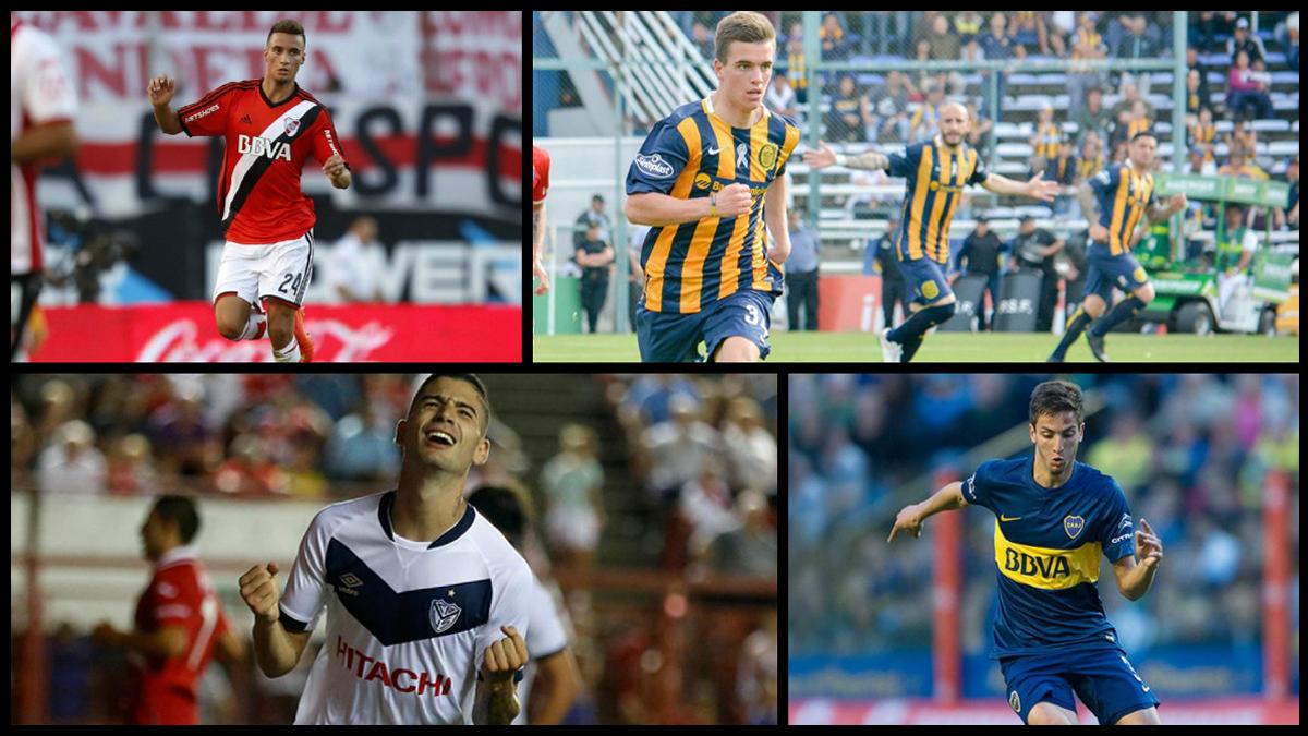 Las 10 promesas del fútbol argentino