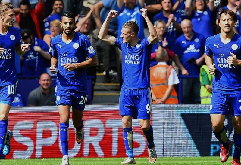 2015-0808-Leicester-City-Riyad-Mahrez-Jamie-Vardy