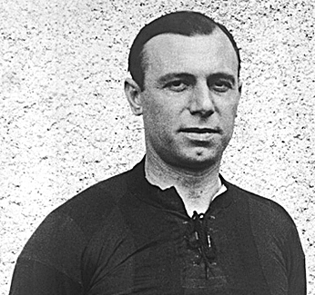 José Piendibene, autor del primer gol de la historia de la Copa América