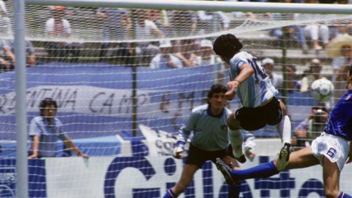 """Maradona fue mi pesadilla"""