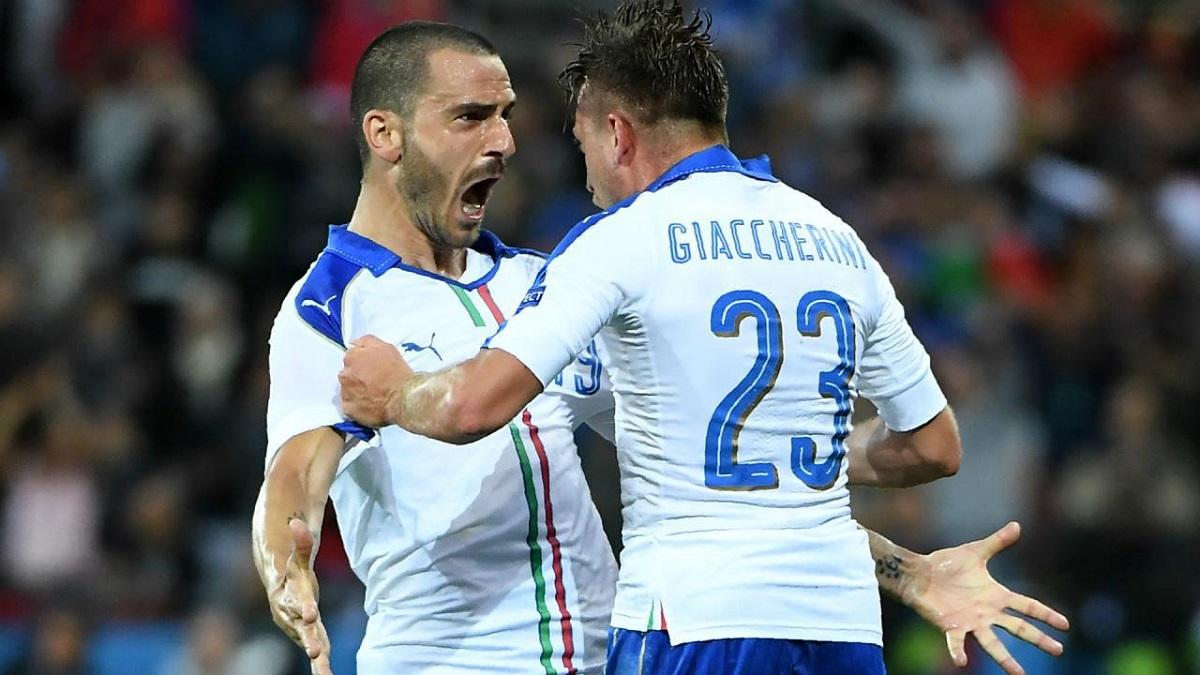 Italia, su esencia y Bonucci