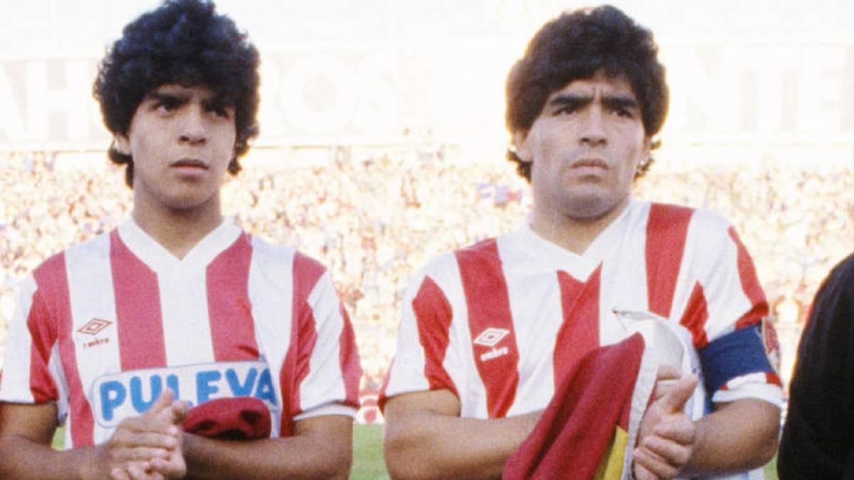 El día que Maradona jugó en el Granada