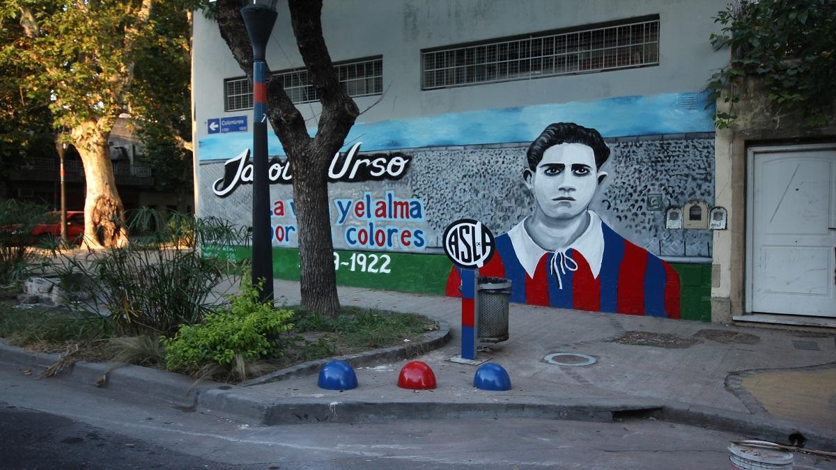 Jacobo Urso, la vida por San Lorenzo