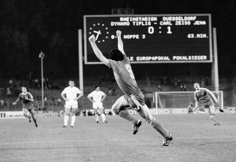 La nostalgia del Dinamo Tbilisi
