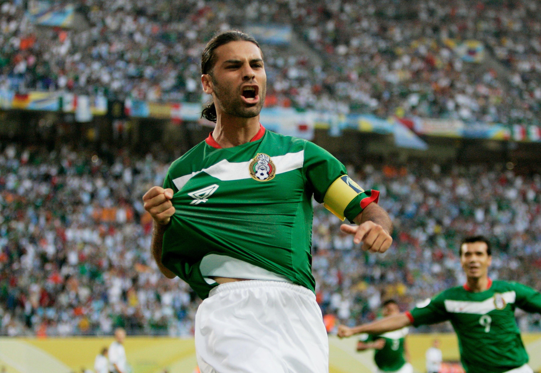 Rafa Márquez y el gol a Argentina
