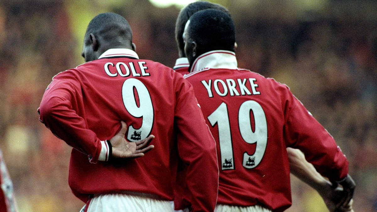 Grandes duplas: Andy Cole – Dwight Yorke..