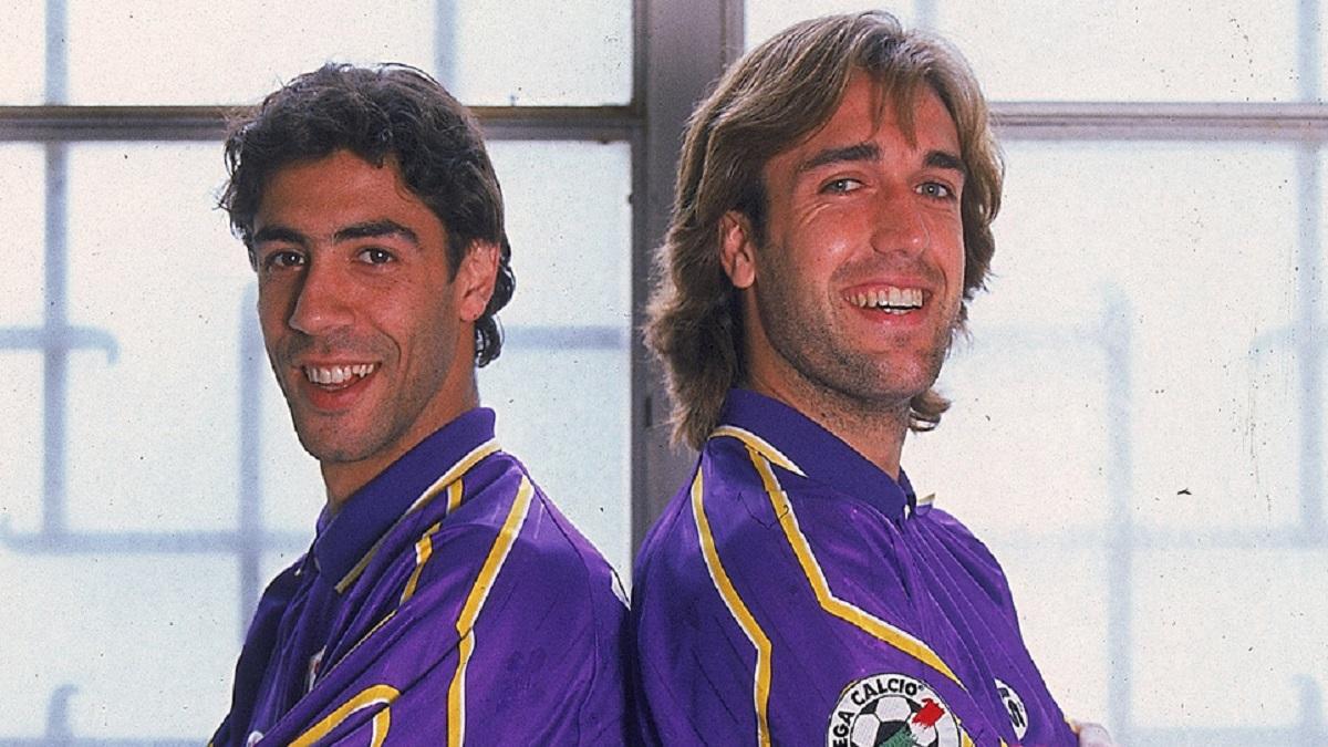 Grandes duplas: Rui Costa-Batistuta