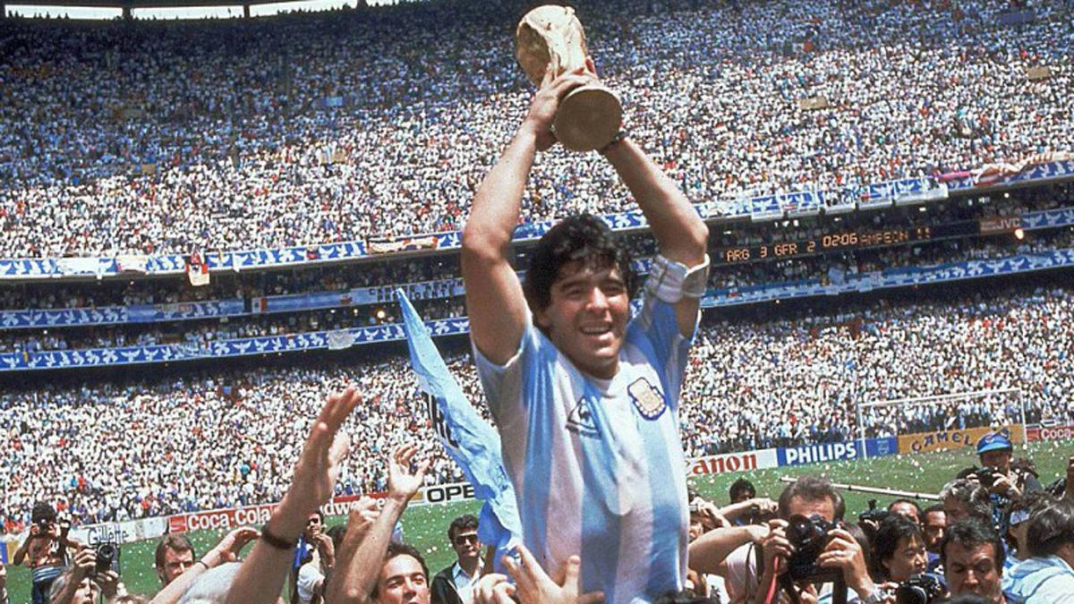 México 1986, el Mundial de un Maradona legendario