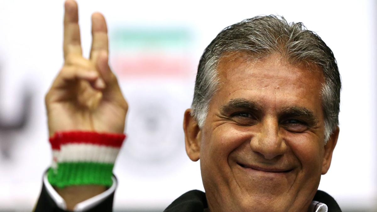 Irán sueña de la mano de Queiroz