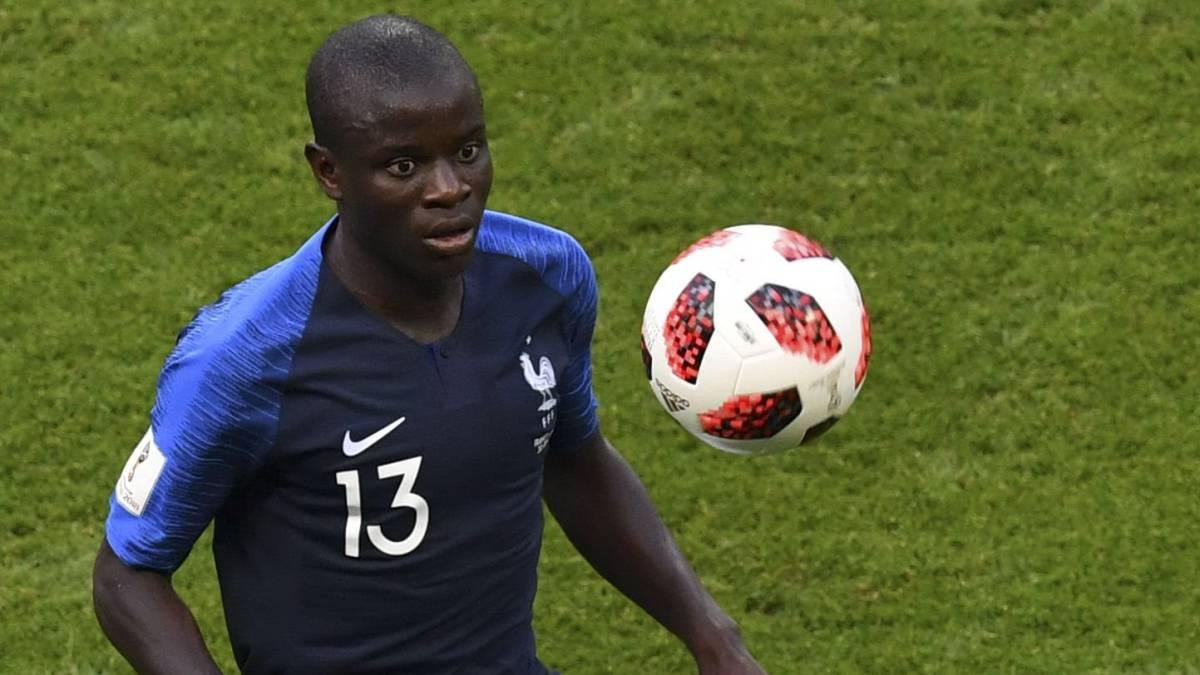 Kanté, el centinela de la Francia finalista