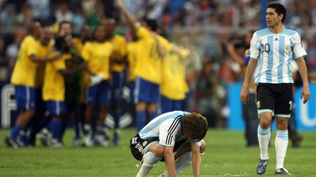 MWU: El día que Brasil B aplastó a Argentina